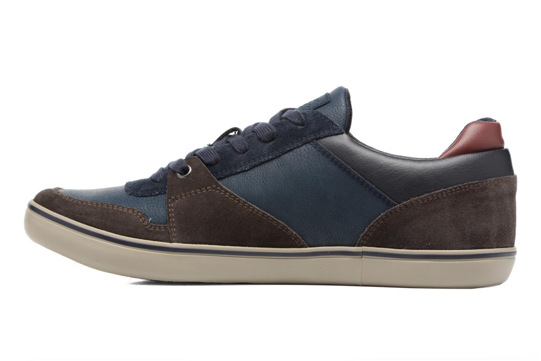 Sneakers Geox U Box A U74R3A Bruin voorkant