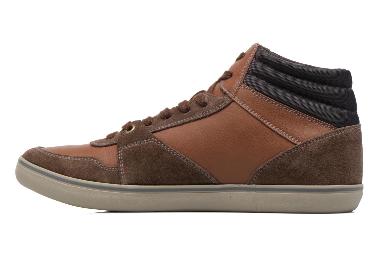 Sneakers Geox U Box J U74R3J Bruin voorkant