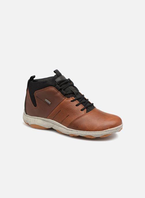 Botas de hombre Geox de color marrón. Modelo U742VA · Geox