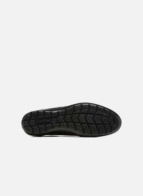 Sneaker Geox U Symbol C U74A5C schwarz ansicht von oben