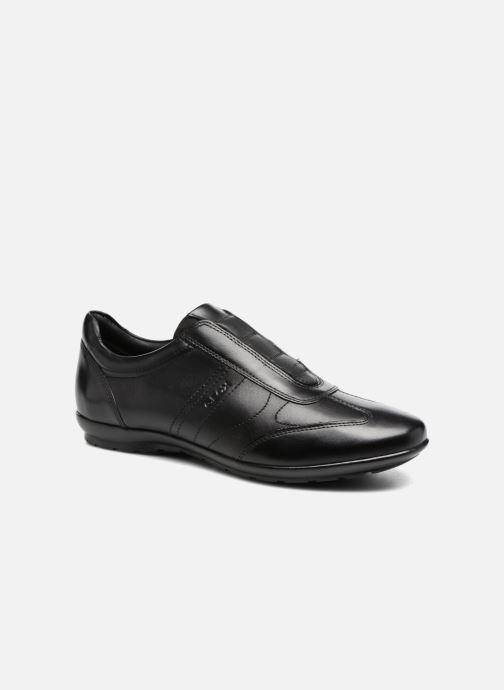 Sneakers Geox U Symbol C U74A5C Zwart detail