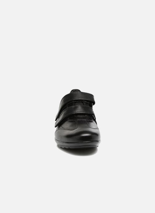 Baskets Geox U Symbol D U74A5D Noir vue portées chaussures
