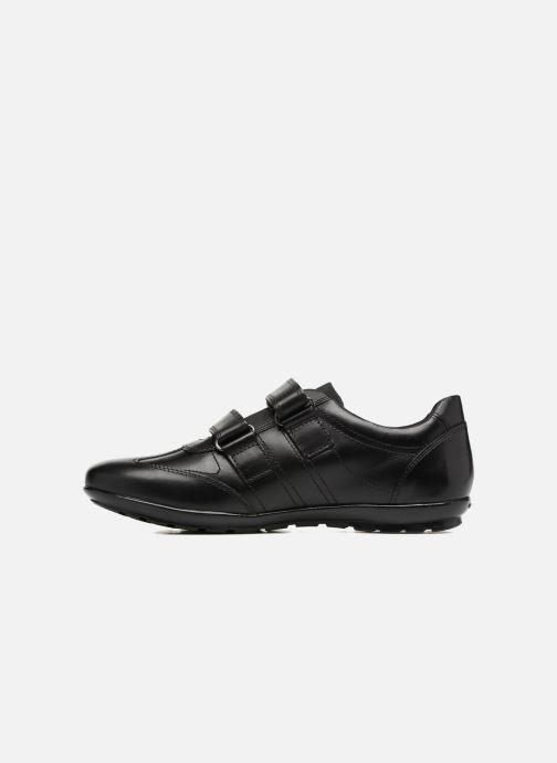 Sneaker Geox U Symbol D U74A5D schwarz ansicht von vorne