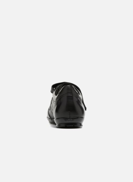 Trainers Geox U Symbol D U74A5D Black view from the right