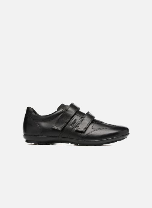 Sneaker Geox U Symbol D U74A5D schwarz ansicht von hinten