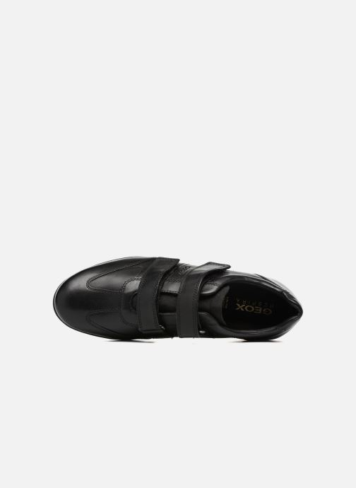Trainers Geox U Symbol D U74A5D Black view from the left