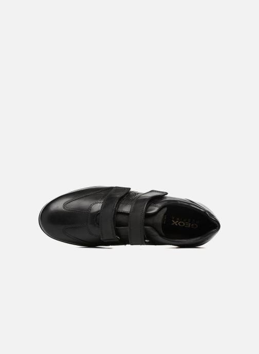 Sneaker Geox U Symbol D U74A5D schwarz ansicht von links