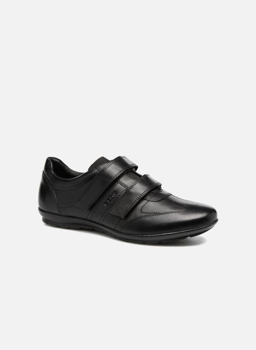 Sneakers Geox U Symbol D U74A5D Zwart detail