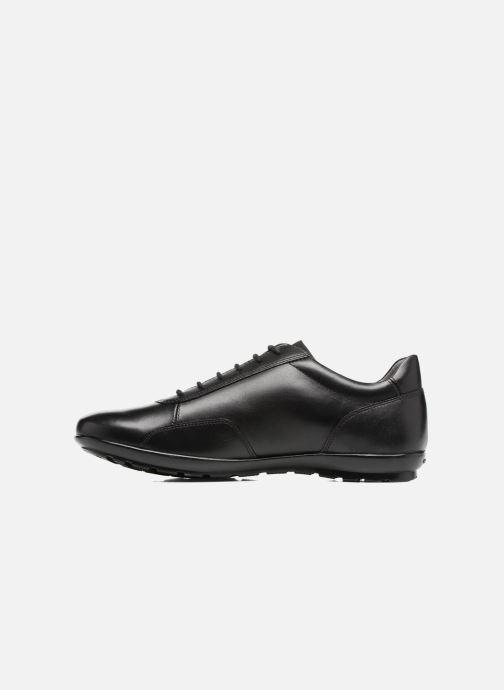 Sneaker Geox U Symbol A U74A5A schwarz ansicht von vorne