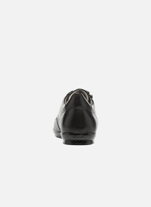 Sneaker Geox U Symbol A U74A5A schwarz ansicht von rechts