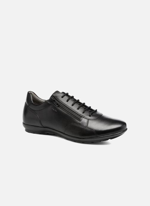 Sneaker Geox U Symbol A U74A5A schwarz detaillierte ansicht/modell