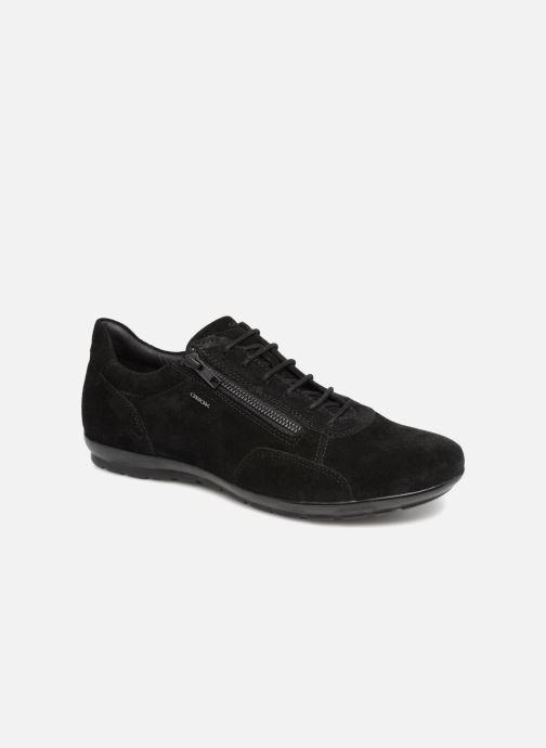 best authentic c6d8e a1d2d Sneakers Geox U Symbol A U74A5A Svart detaljerad bild på paret