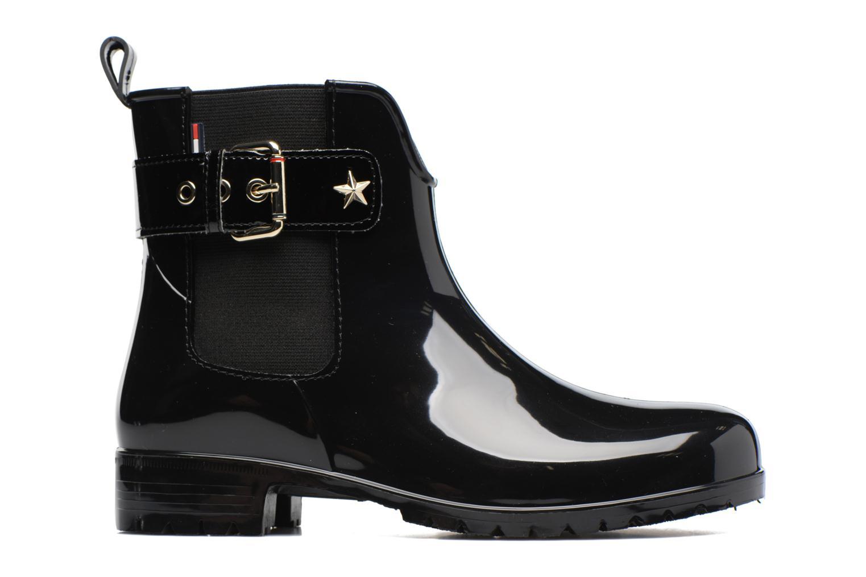 Boots en enkellaarsjes Tommy Hilfiger Oxley Zwart achterkant