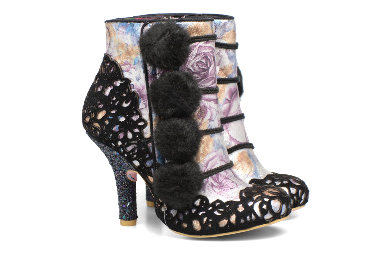 Bottines et boots Irregular Choice Slumber Party Noir vue 3/4