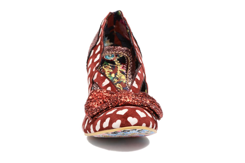 Escarpins Irregular Choice Stage Left Rouge vue portées chaussures