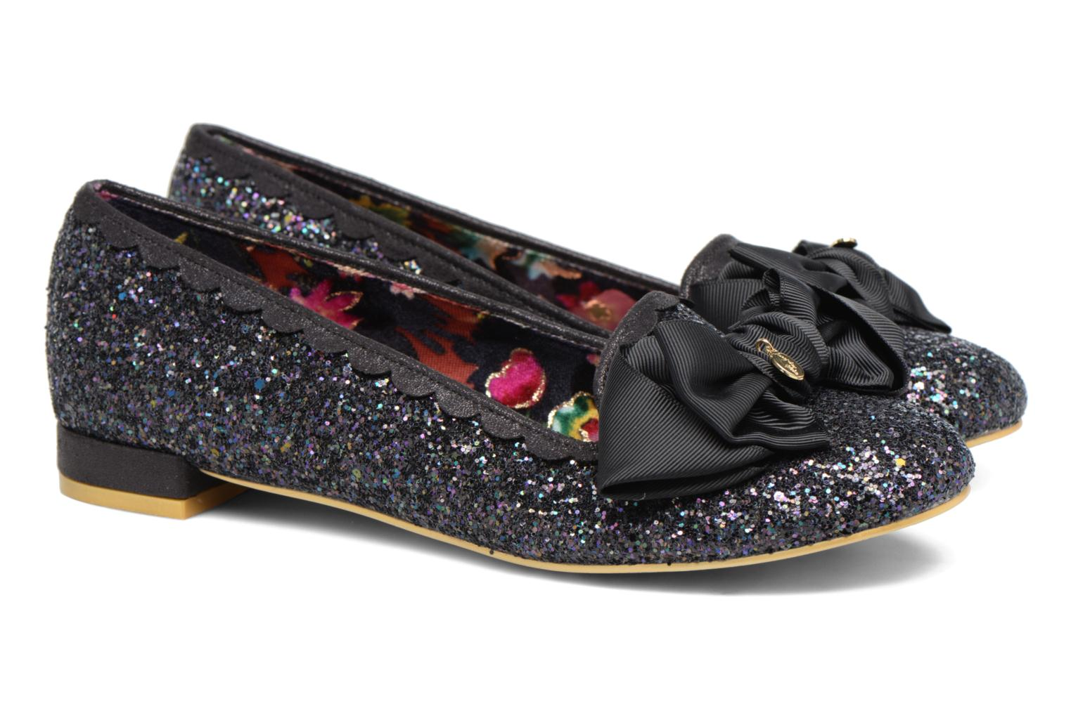 Ballerines Irregular Choice Sulu Noir vue 3/4