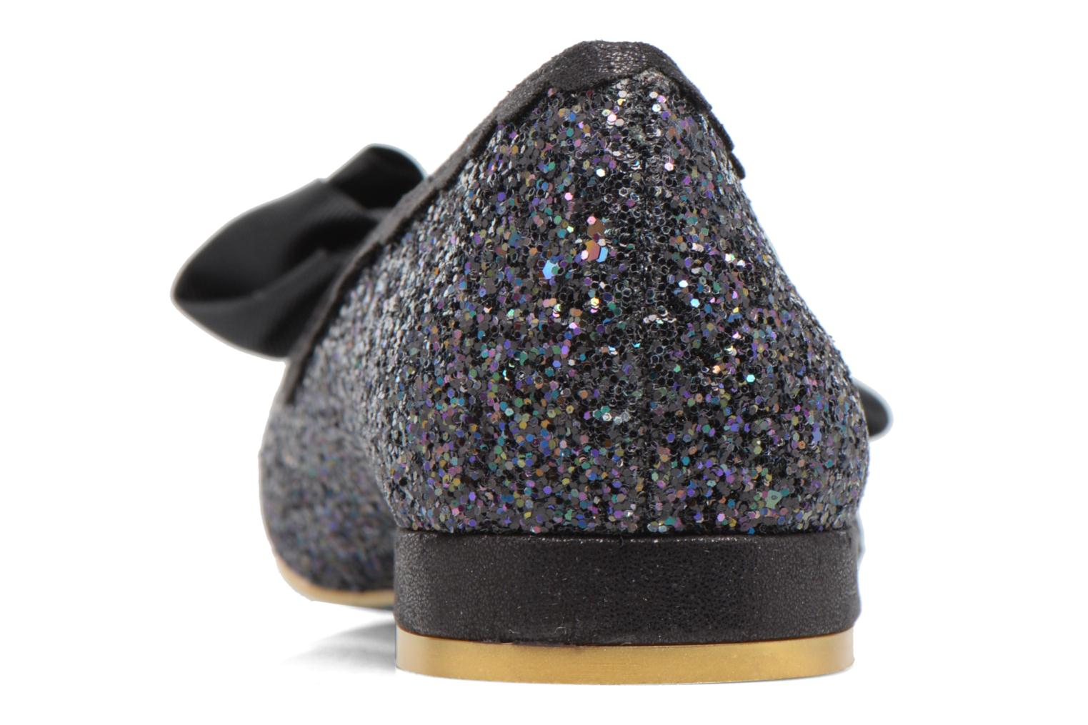 Ballet pumps Irregular choice Sulu Black view from the right