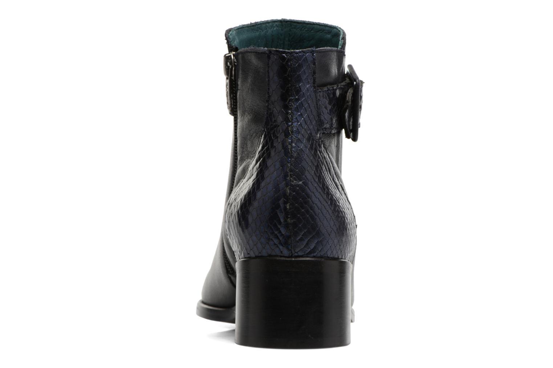 Boots en enkellaarsjes Karston GLECY Blauw rechts