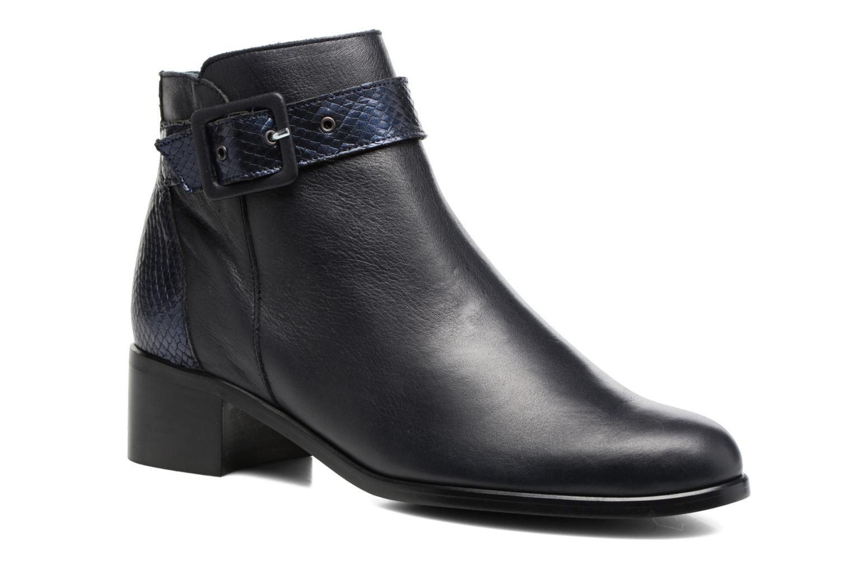 Boots en enkellaarsjes Karston GLECY Blauw detail