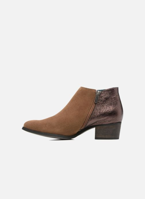 Ankle boots Karston GLUBIUS Brown front view