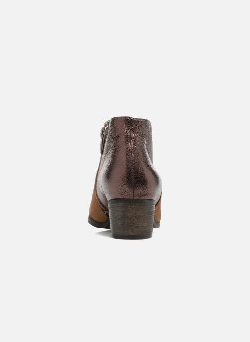 Ankle boots Karston GLUBIUS Brown view from the right