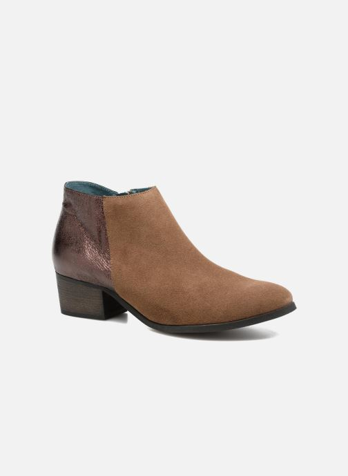 Ankle boots Karston GLUBIUS Brown detailed view/ Pair view