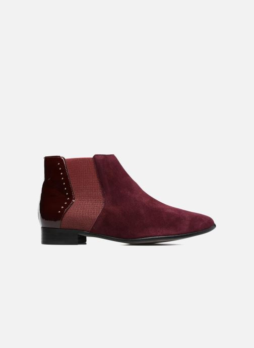 Ankle boots Karston JONIL Burgundy back view