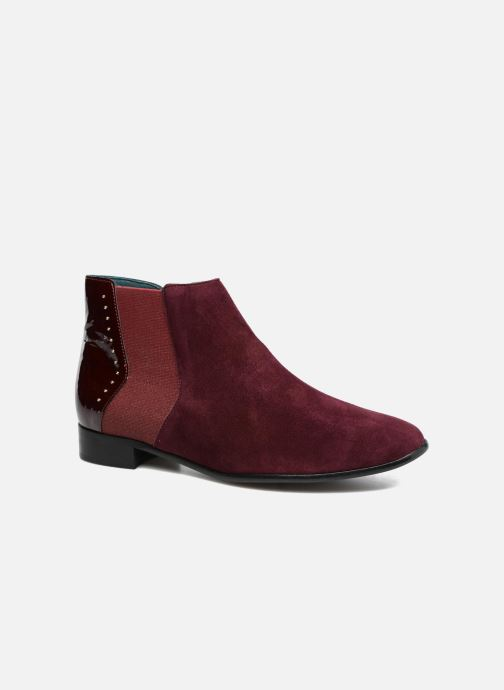Ankle boots Karston JONIL Burgundy detailed view/ Pair view