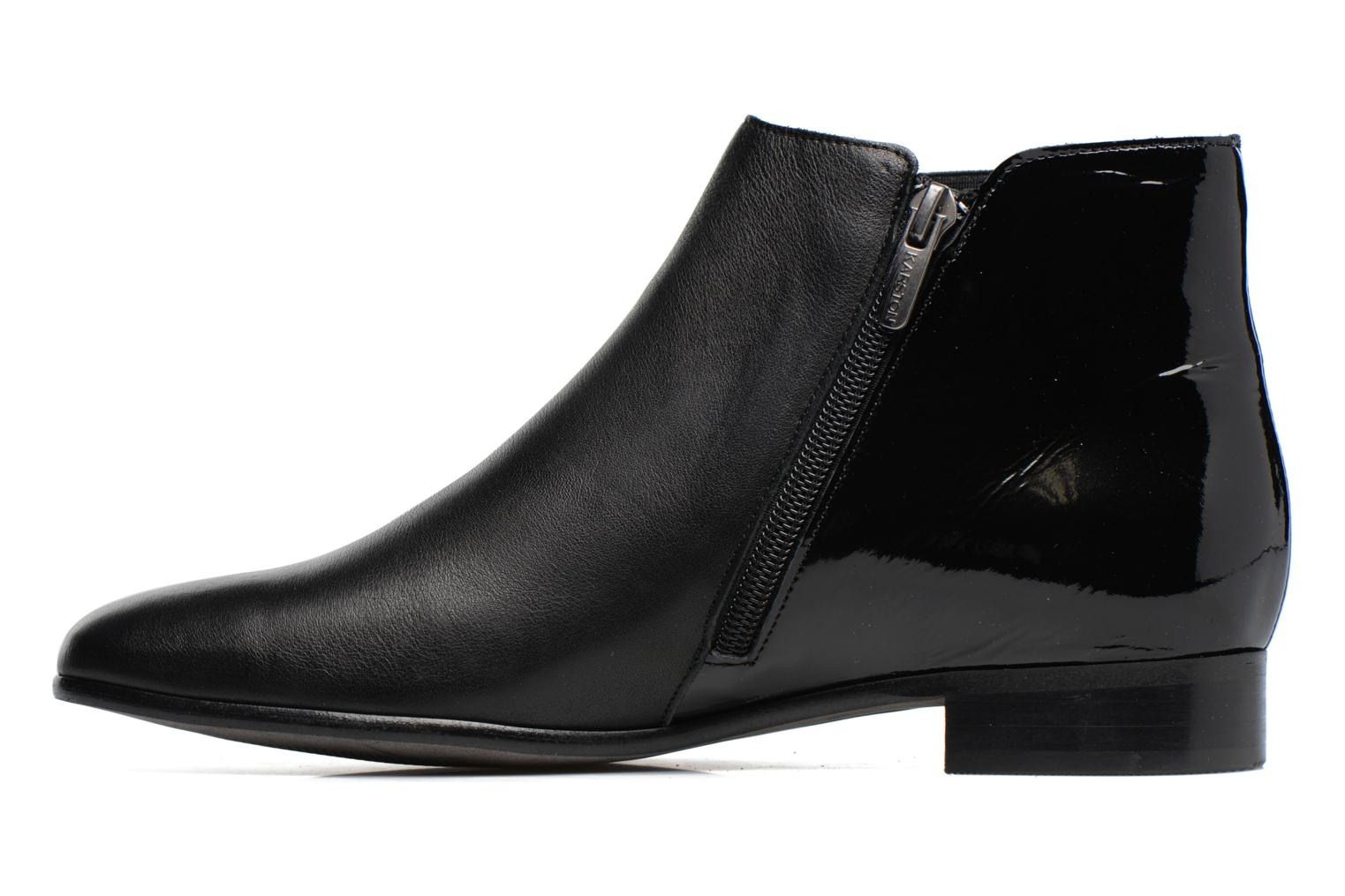 Ankle boots Karston JONIL Black front view