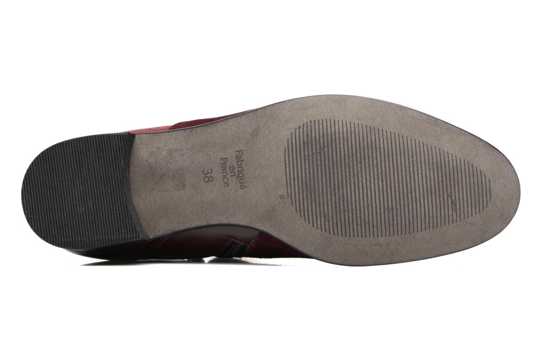 Stiefeletten & Boots Karston JONIL weinrot ansicht von oben