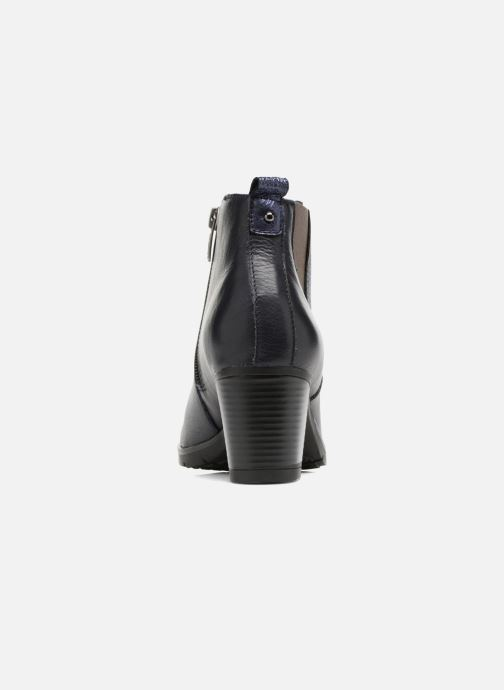 Ankle boots Karston GADJO Blue view from the right