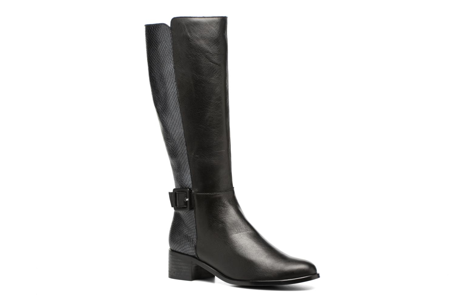 Boots & wellies Karston GLEVINA Black detailed view/ Pair view