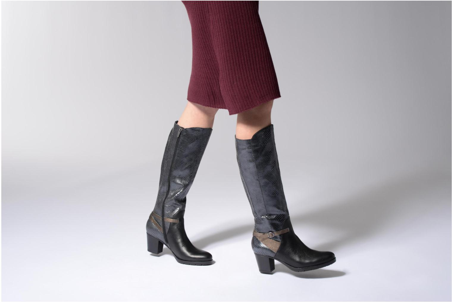 Boots & wellies Karston GAVA Black view from underneath / model view