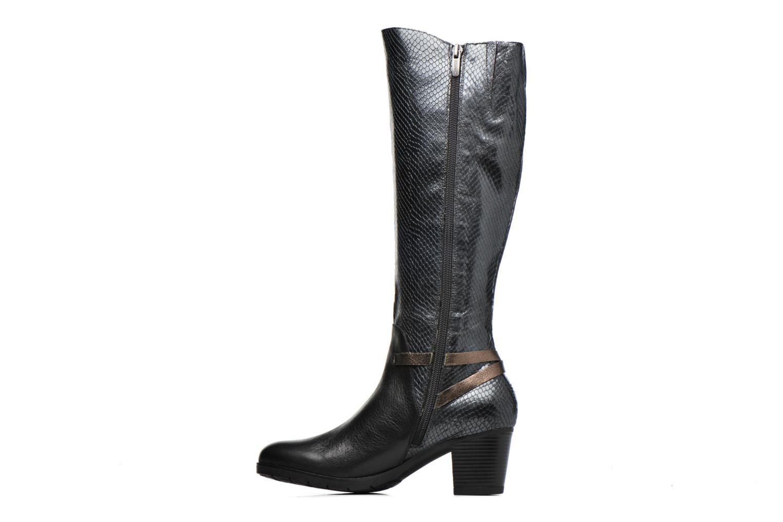 Boots & wellies Karston GAVA Black front view