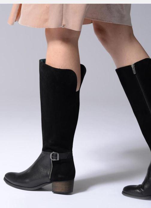Boots & wellies Karston GLUSTAV Black view from underneath / model view