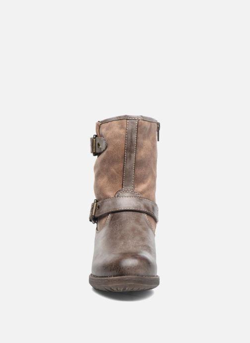 Bottines et boots S.Oliver Cecila Marron vue portées chaussures