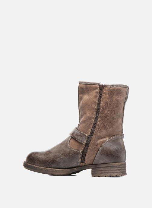 Bottines et boots S.Oliver Cecila Marron vue face