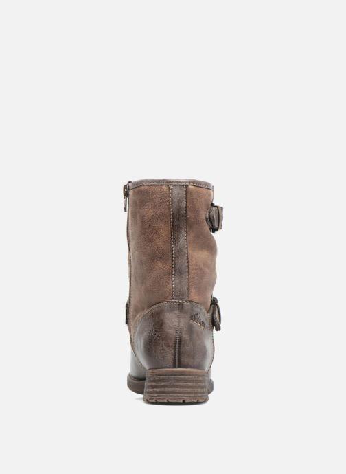 Bottines et boots S.Oliver Cecila Marron vue droite