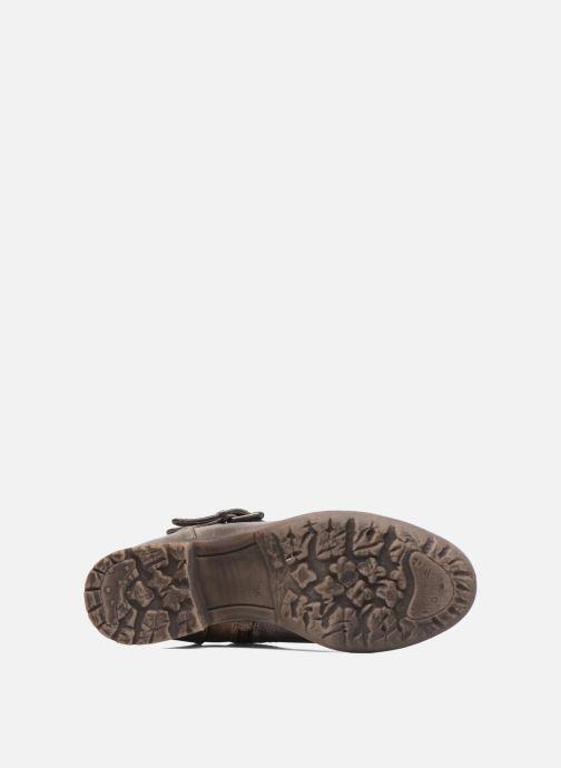 Bottines et boots S.Oliver Cecila Marron vue haut