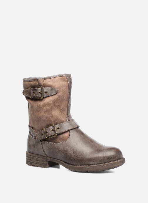 Bottines et boots S.Oliver Cecila Marron vue détail/paire