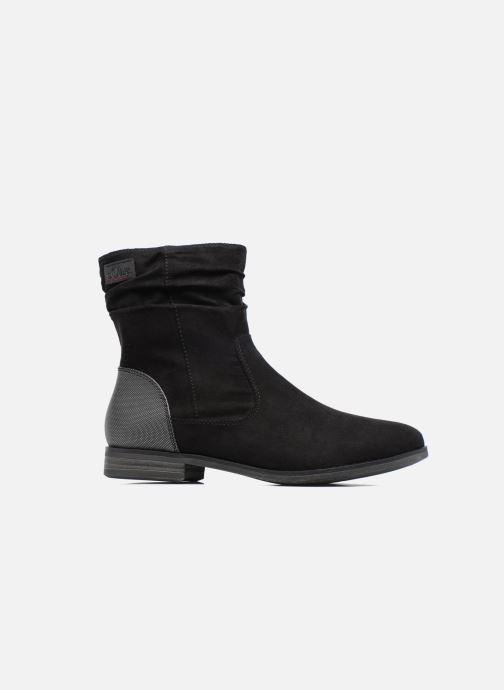 Stiefeletten & Boots S.Oliver Nola schwarz ansicht von hinten