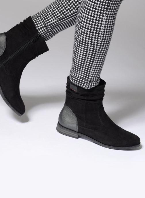 Bottines et boots S.Oliver Nola Bleu vue bas / vue portée sac
