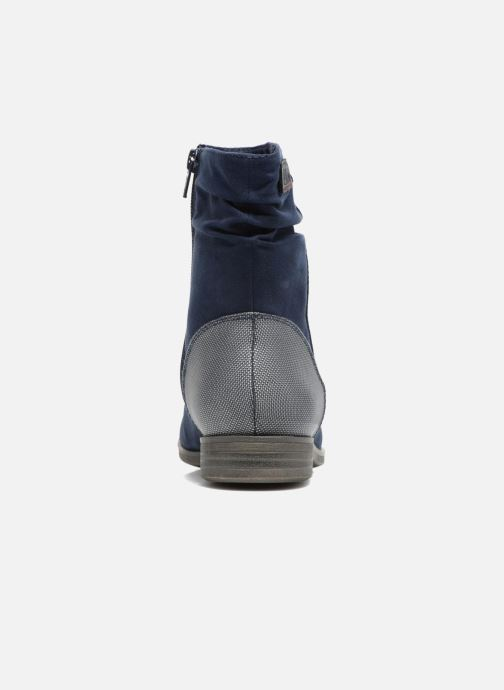 Bottines et boots S.Oliver Nola Bleu vue droite