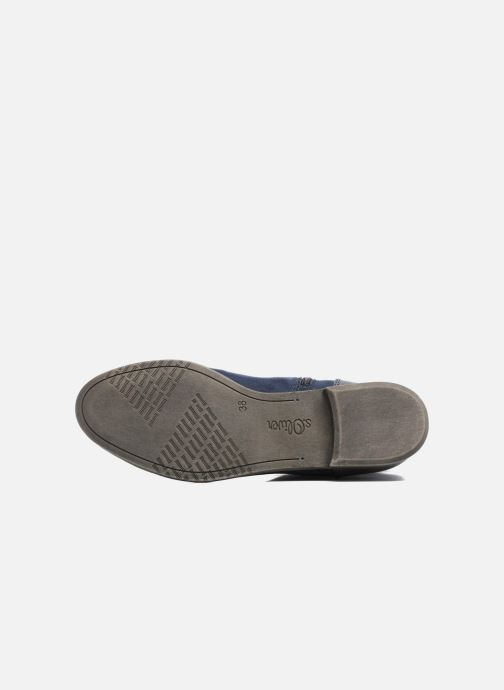 Bottines et boots S.Oliver Nola Bleu vue haut