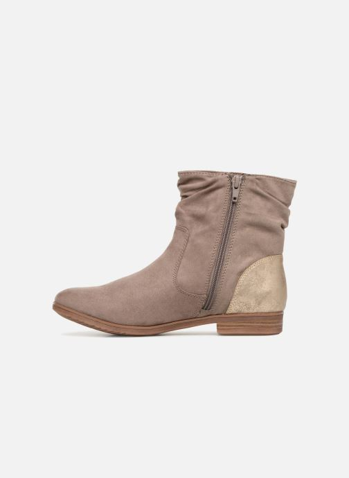 Ankle boots S.Oliver Nola Beige front view