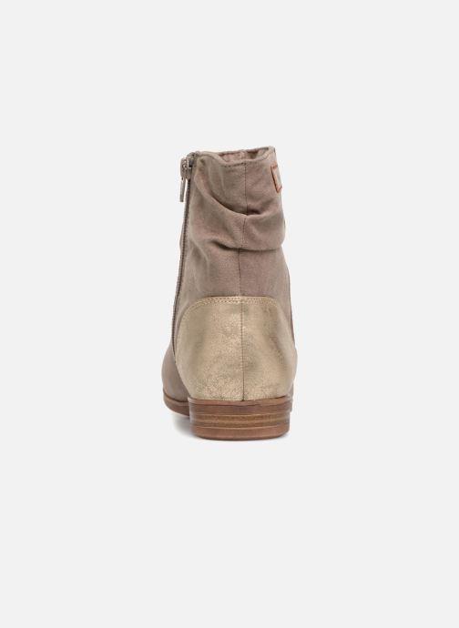Bottines et boots S.Oliver Nola Beige vue droite