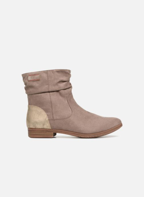 Ankle boots S.Oliver Nola Beige back view