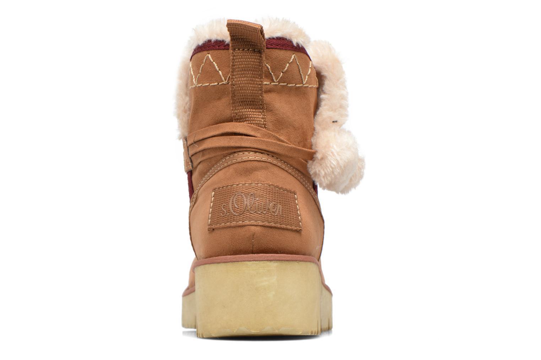 Bottines et boots S.Oliver Hicho Marron vue droite