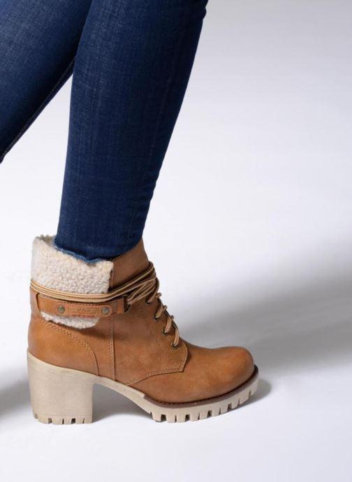 Bottines et boots S.Oliver Fame Marron vue bas / vue portée sac
