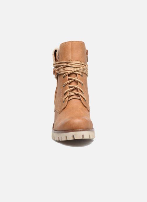Bottines et boots S.Oliver Fame Marron vue portées chaussures